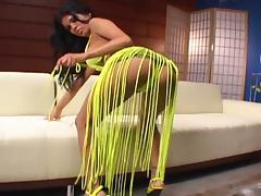 Hot Latina with perfect body fucked by a wrestler