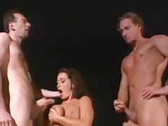 All, Anal, Blowjob, Brunette, Foursome, Group