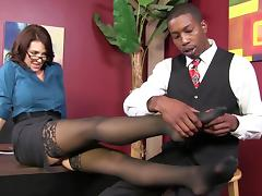 All, Adorable, Couple, Glasses, Interracial, MILF