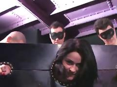 Banging, Banging, BDSM, Brunette, Gangbang, Group