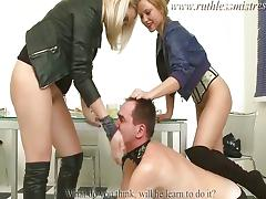 Pissing, BDSM, Blonde, Boots, Cunt, Femdom