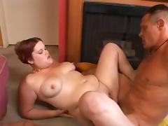 Papa - Chunky Redhead gets fucked
