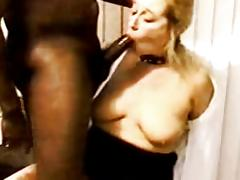 White slut wife takes BBC