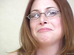 Glasses, Amateur, Blowjob, Close Up, Couple, Doggystyle