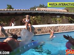 Saboom Video: Big Birthday Partyfuck In Ibiza