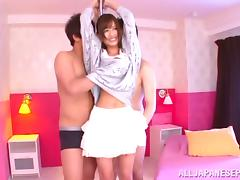 MMF fingering for a nice teen Airi Kijima