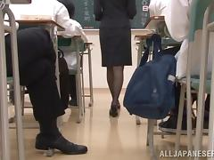 Minami Hirahar gets face-fucked and facialed by a stranger