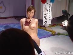 Minami Kojima amazing Japanese babe is into mmf group