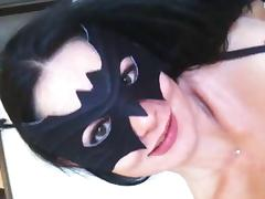 Mask, Amateur, Blowjob, Mask, Sucking