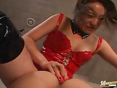 Japanese AV model fucks hard