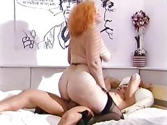 Big-assed Mature Fucks A Guy