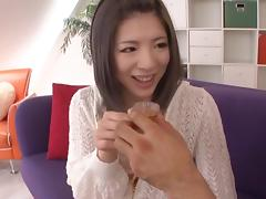 Natsuki Kitagawa naughty Asian milf enjoys play with sex toys