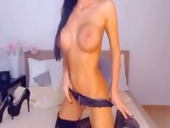 fake tit dumb cam chick