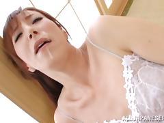 Sweet Reiko Sawamura Gets A Cumshot Inside Her Asian Mouth