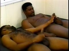Hairy Ebony, Big Cock, Blowjob, Gay, Hairy, Huge