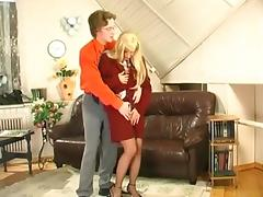 Mom and Boy, Fucking, Mature, Office, Old, Russian