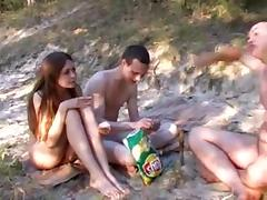 Russian Nudists (Pleased people don't ware panties)