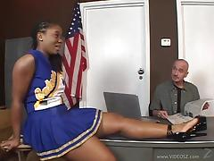 Beautiful Tara Has Interracial Sex At The Office In A Reality Clip