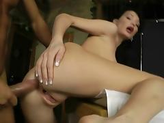 Nice anal massage