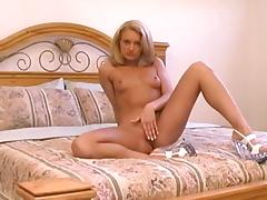 All, Beauty, Bed, Blonde, Lingerie, Masturbation