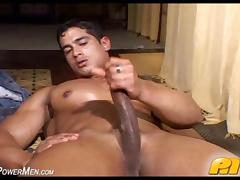 Muscle, Big Cock, Jerking, Latina, Masturbation, Monster Cock