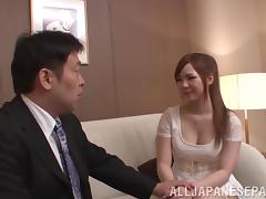 Asian Hotie Moans As He Licks Her Feet Then Screws Her Doggystyle
