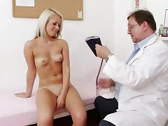 Blonde Venus Devil and her hardcore doctor