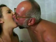 Dad and Girl, Angry, Blonde, Blowjob, Boobs, Fetish