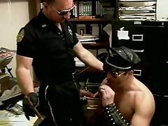 Police, Ass, Big Cock, Blowjob, Cop, Deepthroat