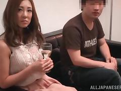 Lovely Asian Babe Gets Face Fucked