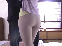 Japanese Granny, Asian, Ass, Ass Licking, Big Cock, Big Tits