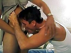 Police, Big Cock, Blowjob, Brunette, Cop, Deepthroat