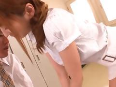 Kaede Matsushima Lovely asian milf is a teacher