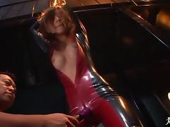 Petite and sexy Kaho Kasumi hardcore bondage action