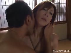 Reiko Sawamura hot mature Asian chick in bondage