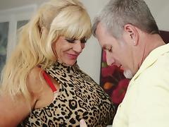 Old, Big Tits, Blonde, Boobs, Mature, Old