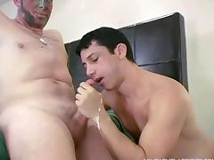 Kinky!drill sergeant fucks recruit in panties