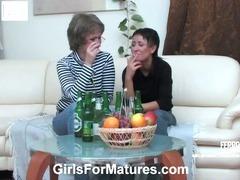 Elvira and Subrina lezzy mom