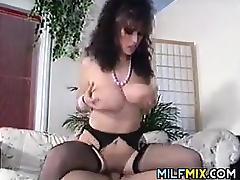 Vintage Mature, Big Tits, Boobs, Brunette, Fucking, Hardcore