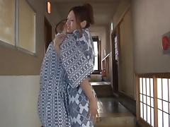 Misuzu Takashima hot Asian milf enjoys the outdoor baths