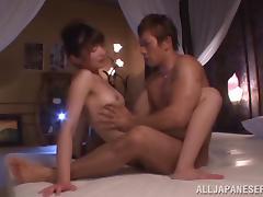 Sweet Azusa Ishihara Gets Fucked Hard By A Lusty Dude