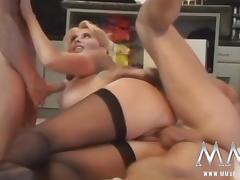 Granny Orgy, Big Cock, Big Tits, Blonde, Blowjob, Boobs