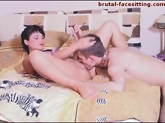 Brutal-FaceSitting Video: Masha Bell