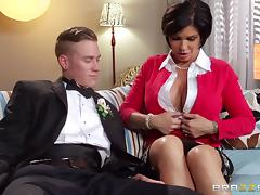 Shay Fox is fucked silly by her horny son-in-law