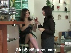 Judith and Jaclyn vivid lesbian mature