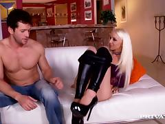 Boots, Adorable, Big Cock, Blonde, Boots, Couple