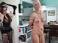 Bondage, Ass, BDSM, Blonde, Bondage, MILF
