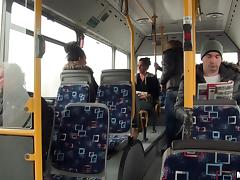 Bus, Blowjob, Bus, Couple, Cowgirl, Cunt