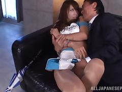 Ria Horisaki Asian chick with big tits  gets fucked