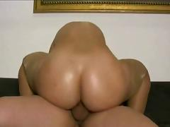 Anal sex with busty hooker